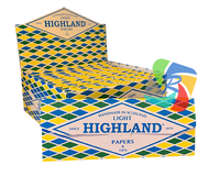 HIGHLAND LIGHT K/S Papers & Tips (Pack Size: 24)
