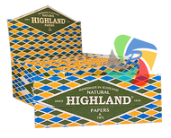 NEW - HIGHLAND NATURAL K/S Papers & Tips (Pack Size: 24)
