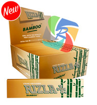 RIZLA BAMBOO ULTRA THIN KINGSIZE PAPERS (Pack Size: 50)