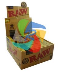 RAW KING SIZE SLIM (Pack Size: 50) (SKU: RW001)