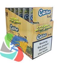 PRE- ROLLED HEMP CYCLONE CONE SHAPED WRAPS - CANE - 2 PER PACK (12 PACKS PER BOX)