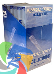PRE- ROLLED CLEAR CYCLONE CONES - ORIGINAL - 2 PER PACK (12 PACKS PER BOX)