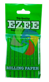 EZEE REGULAR GREEN PAPERS (10 BOOKLET MULTI PACK) X 100
