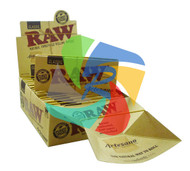 RAW ARTESANO KINGSIZE SLIM PAPER & TIPS (Pack Size: 15) (SKU: RW013)