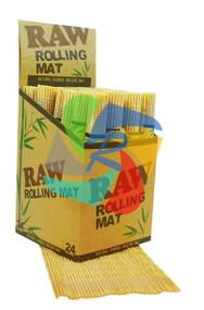 RAW BAMBOO ROLLING MATS (Pack Size: 24) (SKU: RW014)