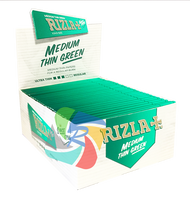 RIZLA GREEN KINGSIZE PAPERS (Pack Size: 50) (SKU: RZ009)