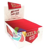 RIZLA RED KINGSIZE PAPERS (Pack Size: 50) (SKU: RZ010)