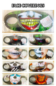 HALLOWEEN MASKS/FACE COVERINGS