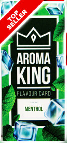 AROMA KING FLAVOUR CARDS - MENTHOL (25 Pk)