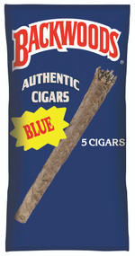 BACKWOOD Cigars (BLUE) taste of Fresh Vanilla - 8 x 5 pk of Cigars