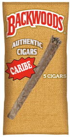 BACKWOODS Cigars (CARIBE) taste of Caribbean Rum - 8 x 5 pk of Cigars