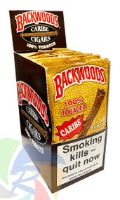 BACKWOODS Cigars (CARIBE) taste of Caribbean Rum - 8 x 5 pk of Cigars