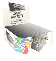RIZLA SILVER KINGSIZE SLIM PAPERS (Pack Size: 50) (SKU: RZ008)