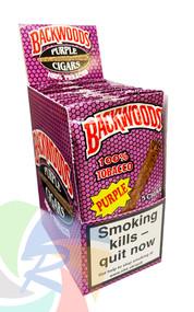 BACKWOODS Cigars (PURPLE) taste of Honey Berry - 8 x 5 pk of Cigars