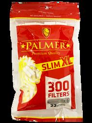 PALMER XL SLIMLINE FILTER TIPS 300 TIPS PER BAG (25 PER BOX)