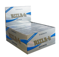 RIZLA MICRON THIN KINGSIZE PAPERS (Pack Size: 50)