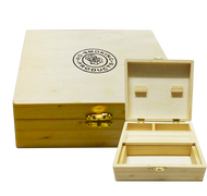 JESTA wooded Rolling Box (Large)