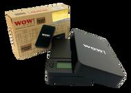 WOW pocket Digital Scale - 200 grams & increments of 0.01g Black