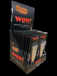 WOW Natural Hemp Cones 6 per pack x 24