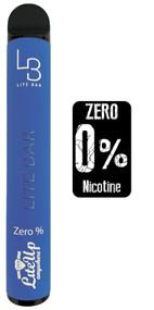 LITE BAR ZERO NICOTINE DISPOSABLE VAPE BARS (600 PUFFS) - ENERGY DRINK - 10PK