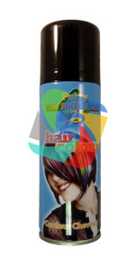 BLACK SOLID TEMPORARY HAIR COLOUR - 125ml (Pack Size: 12) (SKU: HS006)