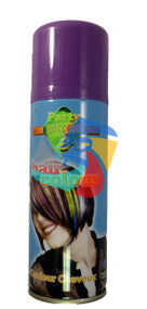 PURPLE SOLID TEMPORARY HAIR COLOUR - 125ml (Pack Size: 12) (SKU: HS008)