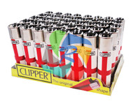 LARGE ENGLAND 2 FLAG CLIPPER LIGHTERS (Pack Size: 40)