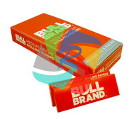 BULL BRAND RED ROLLING PAPERS (Pack Size: 25) (SKU: BU003)