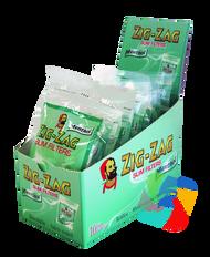 ZIG-ZAG MENTHOL FILTER TIPS 150 TIPS PER PACK (Pack Size: 10) (SKU: ZI006)