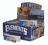 ELEMENTS PERFORATED ROLLING TIPS (50 TIPS PER BOX) (SKU: EL003)