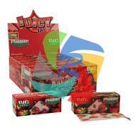 JUICY JAYS ROLLS STRAWBERRY (Pack Size: 24 Rolls) (SKU: JR010)