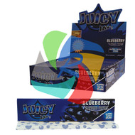 JUICY JAYS BLUEBERRY FLAVOURED KINGSIZE PAPER (24 BOOKLETS PER BOX) (SKU: JK003)