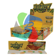 JUICY JAYS PINEAPPLE FLAVOURED KINGSIZE PAPER (24 BOOKLETS PER BOX) (SKU: JK005)