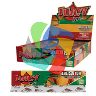 JUICY JAYS JAMAICAN RUM FLAVOURED KINGSIZE PAPER (24 BOOKLETS PER BOX) (SKU: JK006)