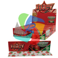 JUICY JAYS STRAWBERRY FLAVOURED KINGSIZE PAPER (24 BOOKLETS PER BOX) (SKU: JK007)