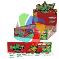 JUICY JAYS STRAWBERRY KIWI FLAVOURED KINGSIZE PAPER (24 BOOKLETS PER BOX) (SKU: JK008)