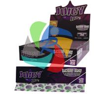 JUICY JAYS BLACKBERRY BRANDY FLAVOURED KINGSIZE PAPER (24 BOOKLETS PER BOX) (SKU: JK009)