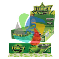 JUICY JAYS GREEN APPLE FLAVOURED KINGSIZE PAPER (24 BOOKLETS PER BOX) (SKU: JK010)