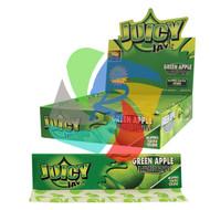 JUICY JAYS GREEN APPLE FLAVOURED KINGSIZE PAPER (24 BOOKLETS PER BOX) (SKU: JK010)