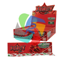JUICY JAYS VERY CHERRY FLAVOURED KINGSIZE PAPER (24 BOOKLETS PER BOX) (SKU: JK011)