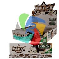 JUICY JAYS COCONUT FLAVOURED KINGSIZE PAPER (24 BOOKLETS PER BOX) (SKU: JK013)
