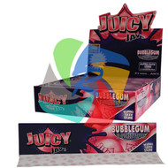 JUICY JAYS BUBBLE GUM FLAVOURED KINGSIZE PAPER (24 BOOKLETS PER BOX) (SKU: JK018)