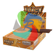 JUICY JAYS LIQUORICE FLAVOURED KINGSIZE PAPER (24 BOOKLETS PER BOX) (SKU: JK019)