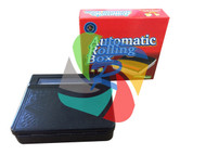 BLACK STEEL AUTOMATIC ROLLING BOX (10 PER BOX) (SKU: RB002)