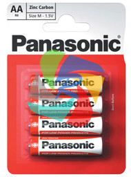 PANASONIC AA PACK OF 4 (Pack Size: 12) (SKU: BT001)
