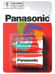 PANASONIC ZINC C PACK OF 2 (Pack Size: 12) (SKU: BT002)