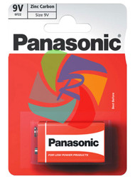 PANASONIC ZINC 9V PACK OF 1 (Pack Size: 12) (SKU: BT004)