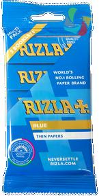 RIZLA BLUE REGULAR ROLLING PAPER MULTI 5 PACK (60 X 5 BOOKLETS PER BOX)  (RZ024)