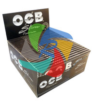 OCB KINGSIZE SLIM ROLLING PAPERS (50 PER BOX) (SKU: OC001)