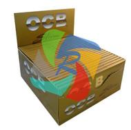 OCB GOLD KINGSIZE SLIM ROLLING PAPERS (50 PER BOX) (SKU: OC004)
